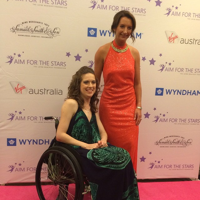Resilience Speaker Stacey with Layne Beachley